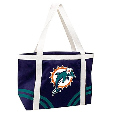 Miami Dolphins Littlearth Tailgate Canvas Tote Bag