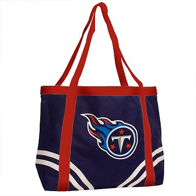 Tennessee Titans Littlearth Tailgate Canvas Tote Bag
