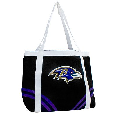 Baltimore Ravens Littlearth Tailgate Canvas Tote Bag