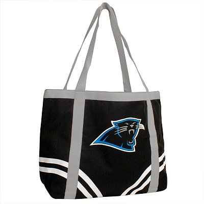 Carolina Panthers Littlearth Tailgate Canvas Tote Bag