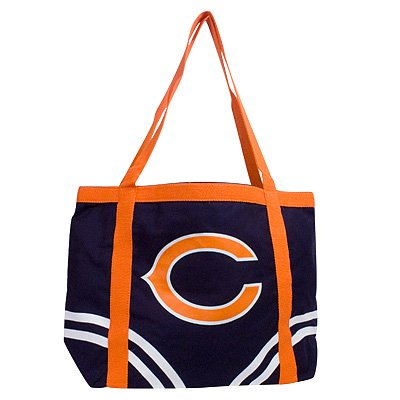 Chicago Bears Littlearth Tailgate Canvas Tote Bag
