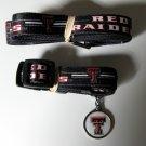 Texas Tech University Red Raiders Pet Dog Set Leash Collar ID Tag Small