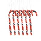 St. Louis Cardinals Candy Cane Christmas Tree Ornament Set Gift