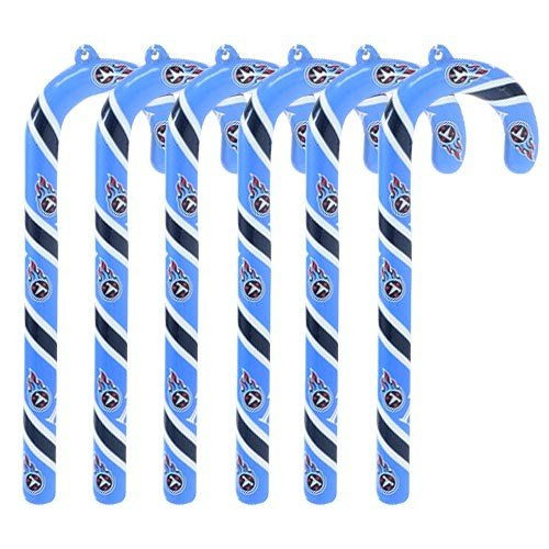 Tennessee Titans Candy Cane Christmas Tree Ornament Set Gift