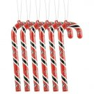 Tampa Bay Buccaneers Candy Cane Christmas Tree Ornament Set Gift