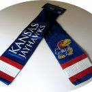 Kansas University Jayhawks Littlearth Jersey Scarf w/ Pocket