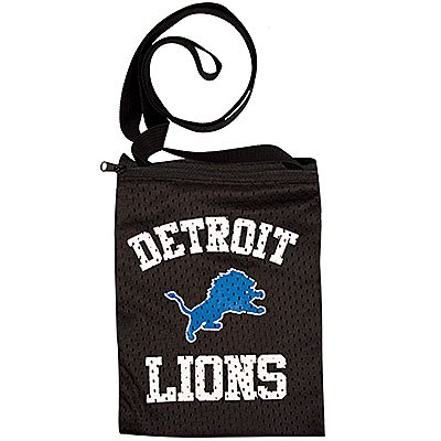 Detroit Lions Littlearth Game Day Football Jersey Purse Pouch