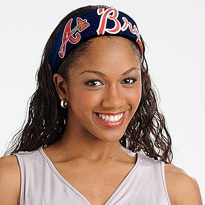 Atlanta Braves FanBand Baseball Jersey Headband