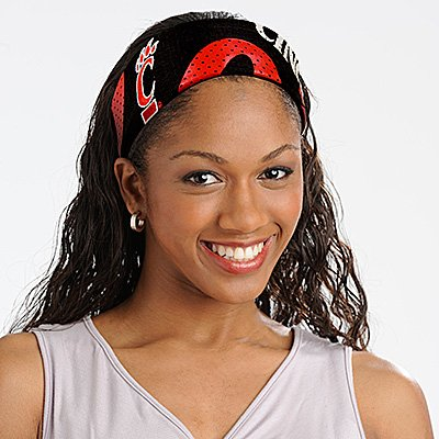 Cincinnati University Bearcats FanBand Football Jersey Headband Cute