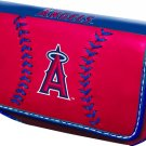 Los Angeles Angels Baseball Leather iPhone Blackberry PDA Cell Phone Case