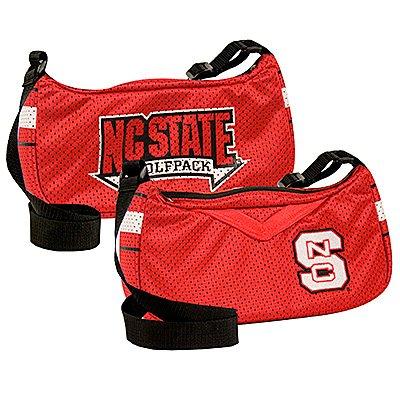 North Carolina NC State University Wolfpack Littlearth Jersey Purse Bag