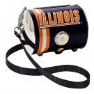 Illinois University Fighting Illini Littlearth Petite Purse Bag