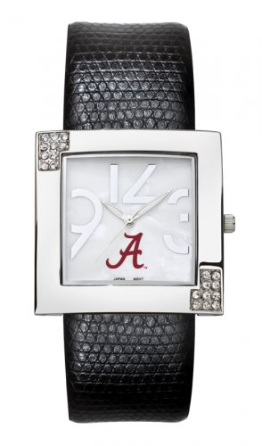 Alabama University Crimson Tide Glamour Ladies Fashion Watch