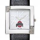 Ohio State University Buckeyes Glamour Ladies Fashion Watch