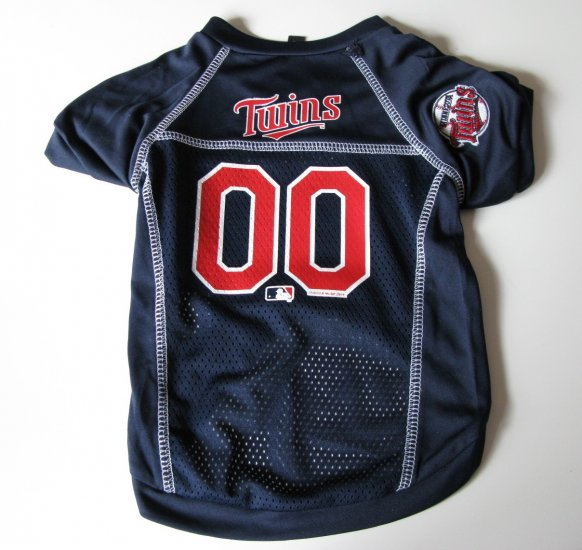 Minnesota Twins Pet Dog Baseball Jersey Shirt Medium