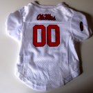 Mississippi University Rebels Pet Dog Football Jersey Premium XL