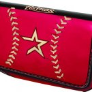 Houston Astros Baseball Leather iPhone Blackberry PDA Cell Phone Case