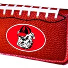Georgia University Bulldogs Football Leather iPhone Blackberry PDA Cell Phone Case