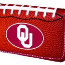 University Of Oklahoma Sooners Football Leather iPhone Blackberry PDA Cell Phone Case
