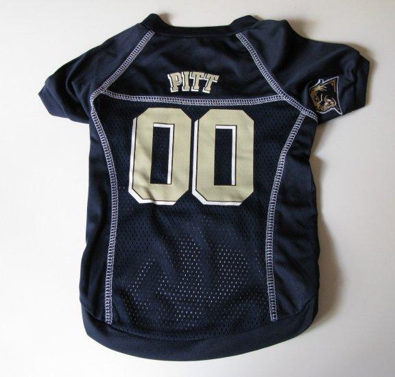 Pittsburgh University Panthers Pet Dog Football Jersey XL