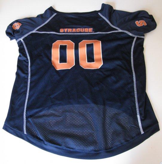 Sycracuse University Orangemen Pet Dog Football Jersey XL