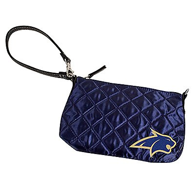 Montana State University Bobcats Littlearth Quilted Purse Wristlet