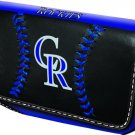 Colorado Rockies Baseball Leather iPhone Blackberry PDA Cell Phone Case