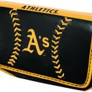 Oakland Athletics A's Baseball Leather iPhone Blackberry PDA Cell Phone Case