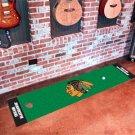 Chicago Blackhawks Golf Putting Green Mat Carpet Runner