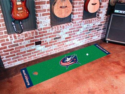 Columbus Blue Jackets Golf Putting Green Mat Carpet Runner