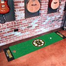 Boston Bruins Golf Putting Green Mat Carpet Runner