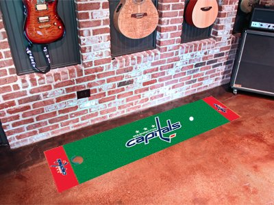 Washington Capitals Golf Putting Green Mat Carpet Runner