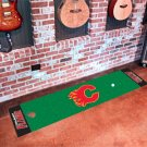 Calgary Flames Golf Putting Green Mat Carpet Runner