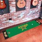Dallas Stars Golf Putting Green Mat Carpet Runner