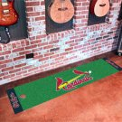 St. Louis Cardinals Golf Putting Green Mat Carpet Runner