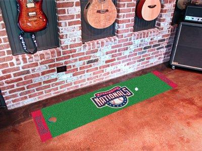 Washington Nationals Golf Putting Green Mat Carpet Runner