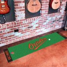 Baltimore Orioles Golf Putting Green Mat Carpet Runner