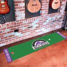 Colorado Rockies Golf Putting Green Mat Carpet Runner