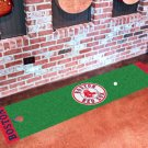 Boston Red Sox Golf Putting Green Mat Carpet Runner
