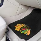 Chicago Blackhawks Carpet Car Mats Set