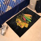 Chicago Blackhawks 2 x 3 Floor Mat Rug