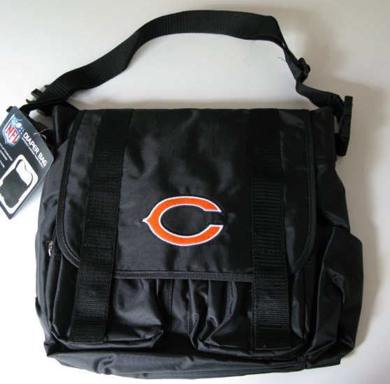 Chicago Bears Baby Diaper Bag Purse w/ Changing Pad