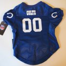 Indianapolis Colts Pet Dog Football Jersey Premium Medium
