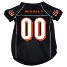 Cincinnati Bengals Pet Dog Football Jersey Small