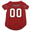 Tampa Bay Buccaneers Pet Dog Football Jersey Medium v3