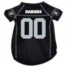 Oakland Raiders Pet Dog Football Jersey Medium