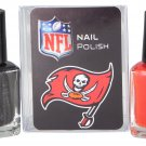 Tampa Bay Buccaneers Team Color Nail Polish Set