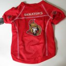Ottawa Senators Pet Dog Hockey Jersey Large v3