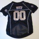 Pittsburgh University Panthers Pet Dog Football Jersey Small