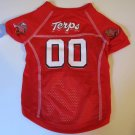 Maryland University Terrapins Pet Dog Football Jersey XL